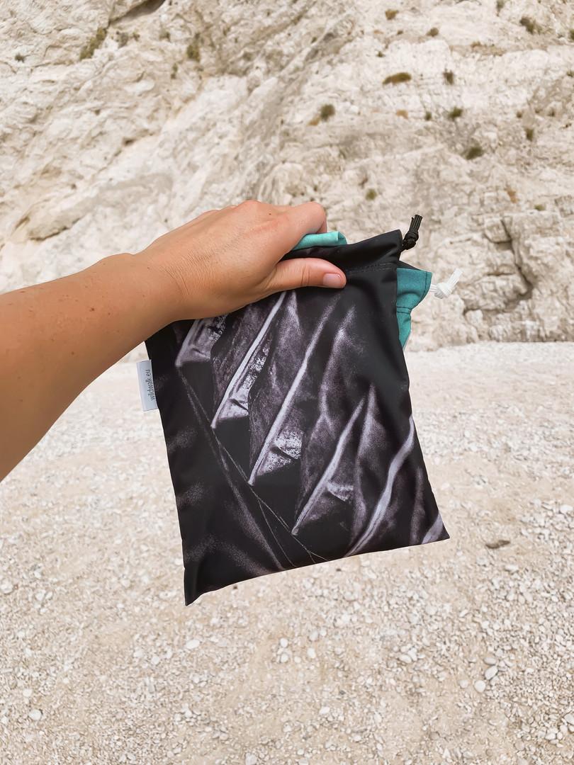 oblečení z recyklovaných rybářských sítí