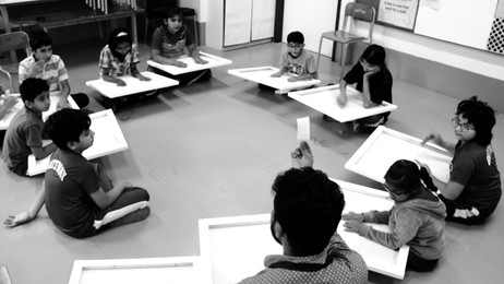 Channeling creativity in students with learning differences: Classroom management in the art studio