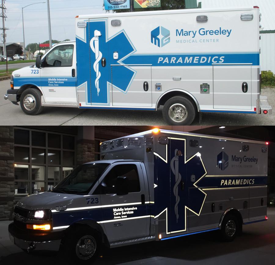 Mary Greeley Ambulance