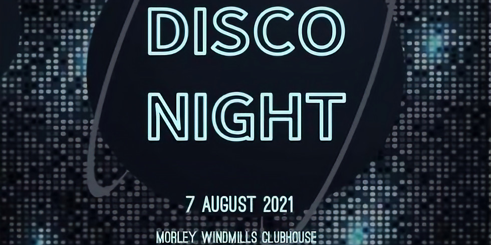 Fundrasing Event - Disco Night