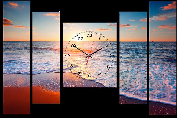 Картины с часами