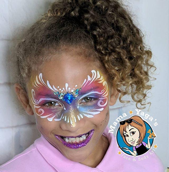 Golden Rainbow Mask