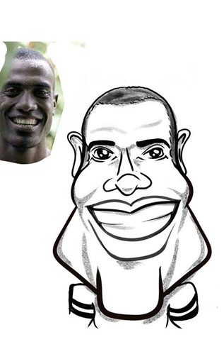 Traditional Caricature with Distortion