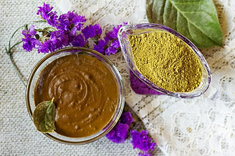 Prepare the henna paste at home. Henna p
