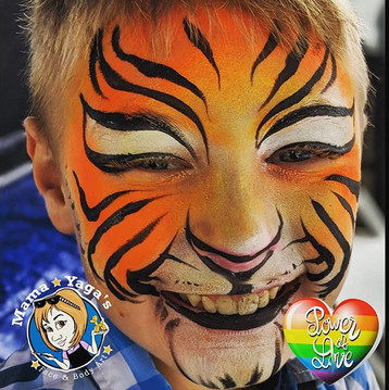 Sweaty tigers are #strugglebus Loving th