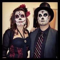 Sugar Skulls Couples
