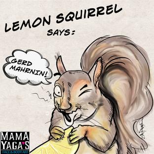 Lemon Squirrel