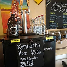 New! Kombucha on tap