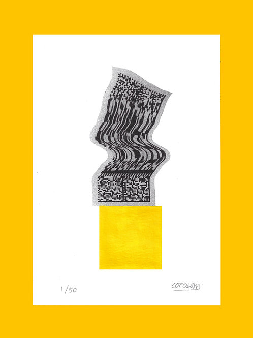 QR CODE PLAYTIME - Yellow Square