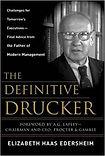 """""""The Definitive Drucker"""" Elizabeth Haas"""