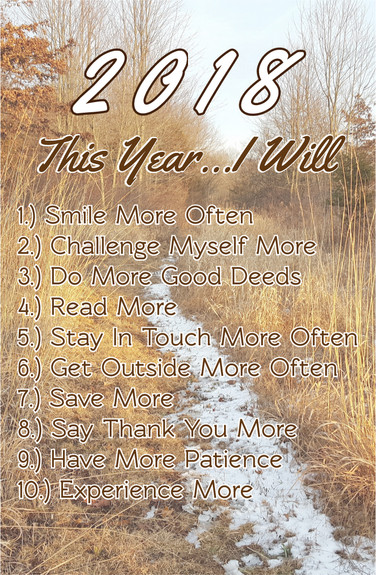 2018 - 10 Steps to a More Rewarding Life