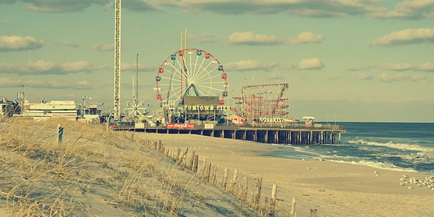 Funtown Pier_vintage photograph