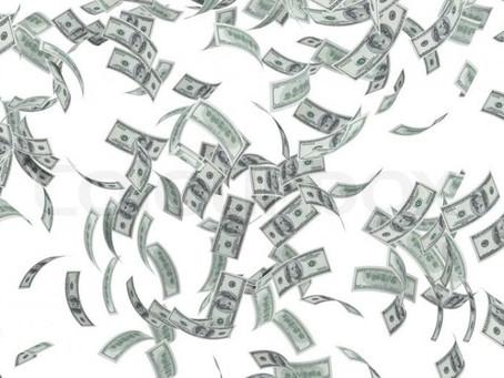 Dinheiro na mão é vendaval