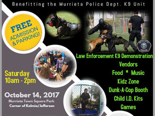 Paws 4 Law 6th Annual Fundraising Event October 14, 2017
