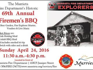 2016 Murrieta Firefighters BBQ