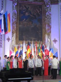 """UPSA performing """"In Laude"""""""