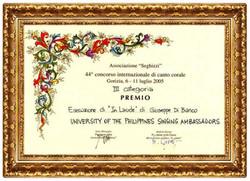 "44th ""Seghizzi""Award"