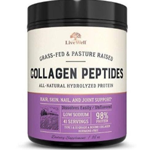 Live Well Collagen Pepides