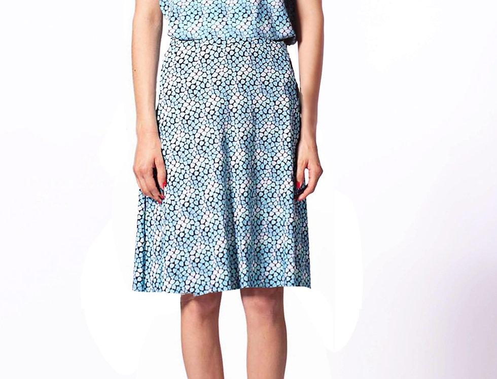 Skirt Mia tiny blue