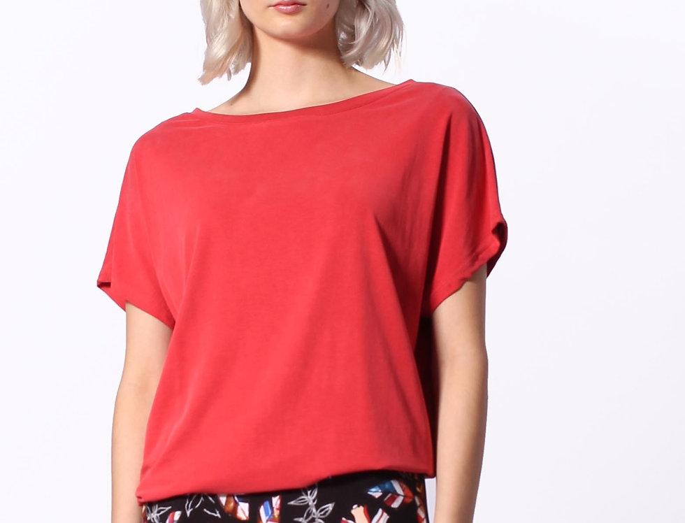 T-Shirt Helen coral modal