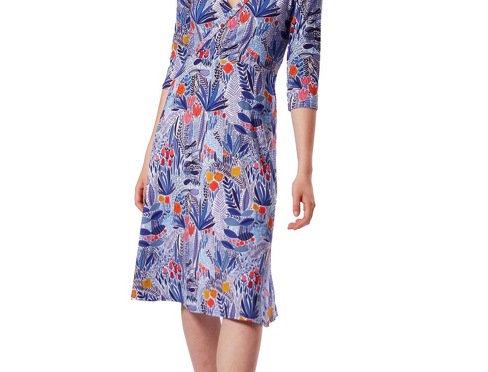Dress Linda garden blue