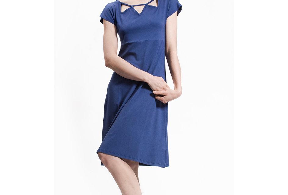 Dress Lena blau