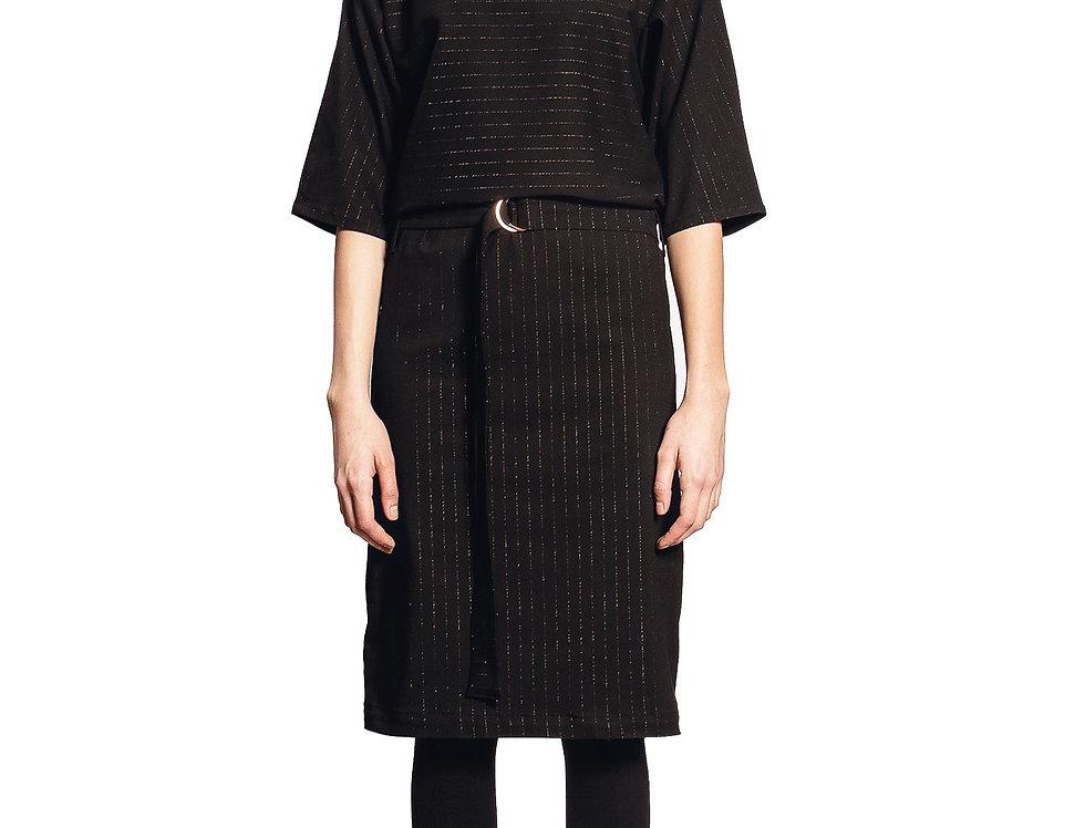 Dress Meghan pinstripe lurex