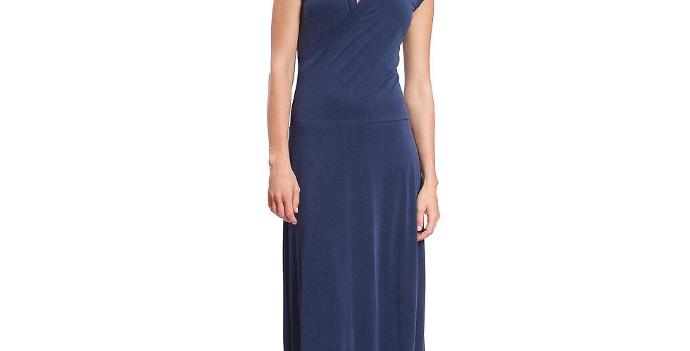 Dress Maxi navy modal