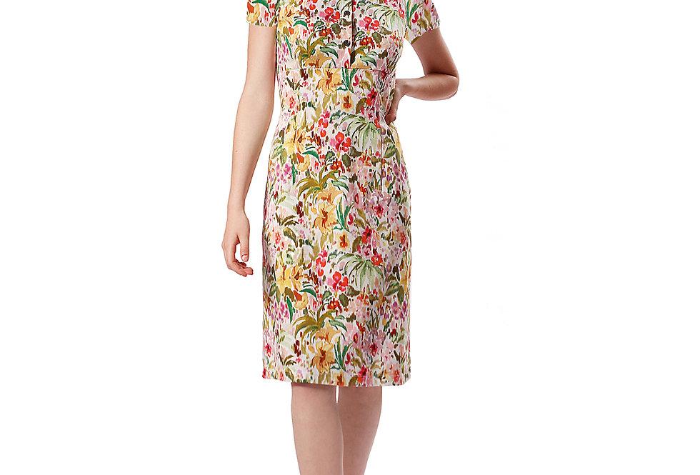 Dress Svea garden white