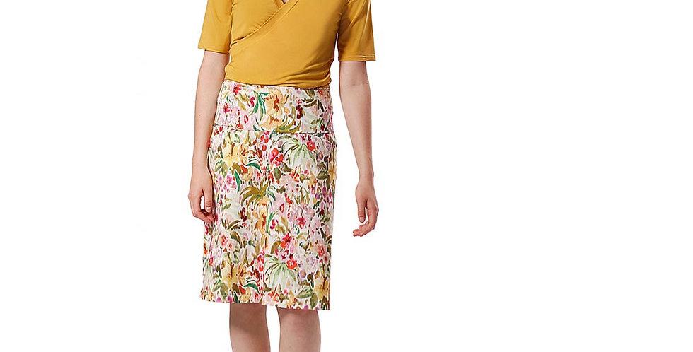 Skirt Jasmin garden white