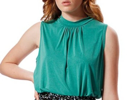 Top May green mint modal