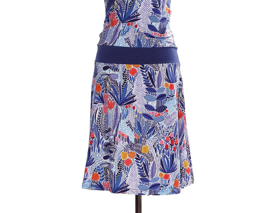 Dress Paula garden blue