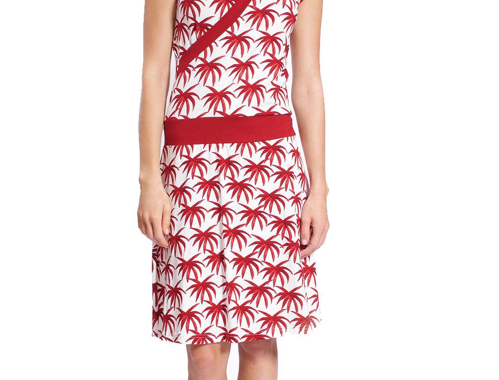 Dress Paula isla red