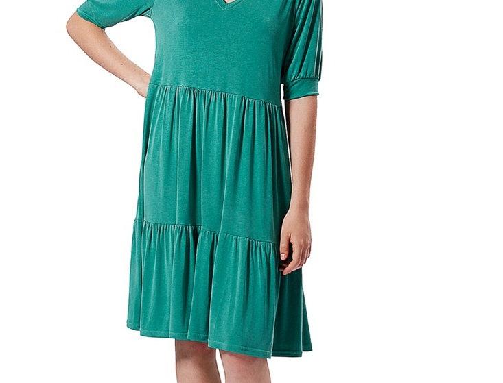Dress Jenny green mint modal