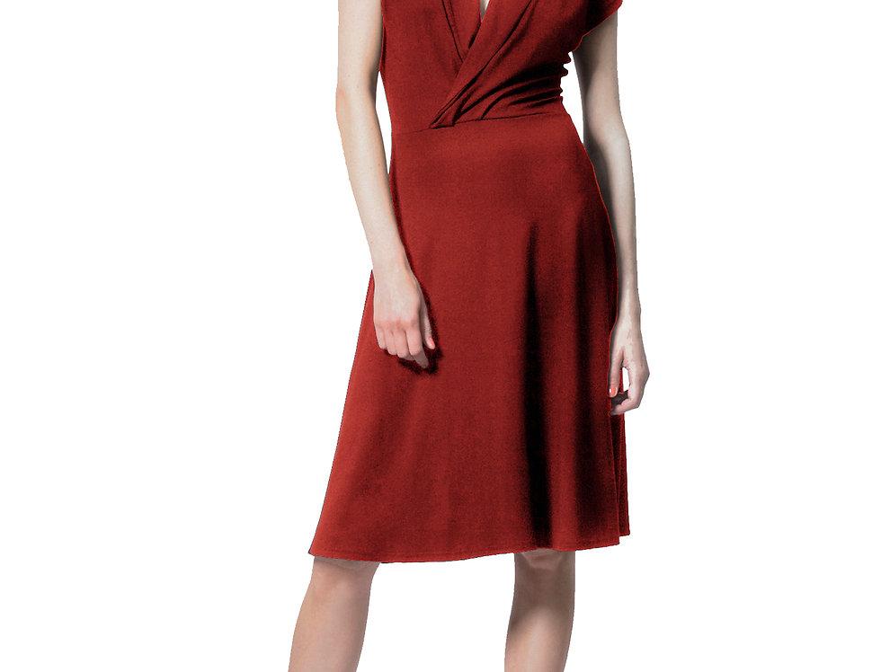 Dress Aniko rot