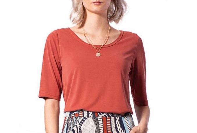 T-Shirt Lisa ginger modal