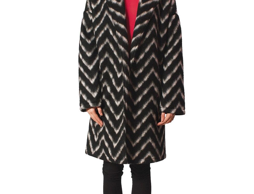 Coat Alma B/W