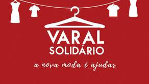 Fundação Cândido Garcia promovem Varal Solidário