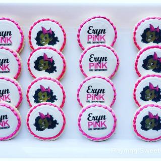 Eryn Pink Logo Cookies.JPG