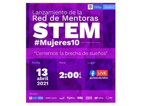 Lanzamiento de la Red de Mentoras STEAM