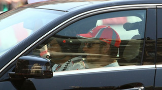 Jenson Button also enjoyed JoAn VIP's services