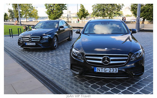 Our newest friends in our fleet: Two E-class with Panoramic Sunroof and more...