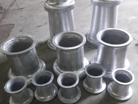 Aluminiums-støpe