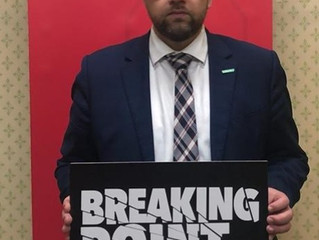 I BACK 'BREAKING POINT' CAMPAIGN TO END AUSTERITY FOR LOCAL COUNCILS