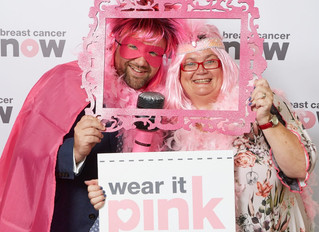 I 'wear it pink' for charity fundraiser