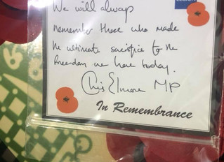 Remembrance in Ogmore
