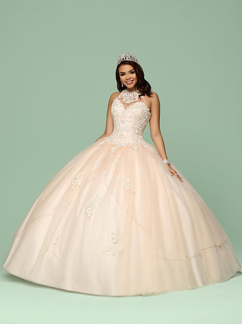 Fairytale One-Piece Quinceanera ball gown