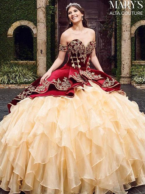 Enchanting ball gown dress (MQ3037)