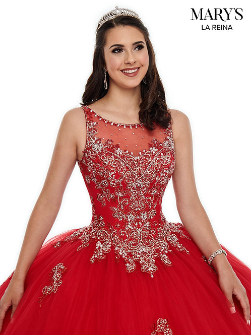 Tulle ball gown (Style: MQ2097) Red