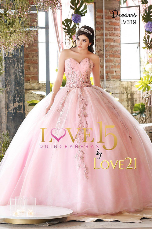 LV319 Dress (Available only in Gold)